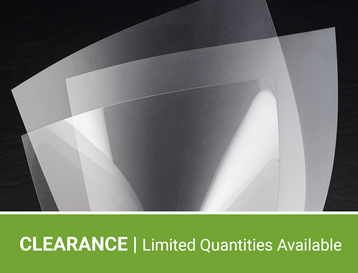 Clearance Polyester Film