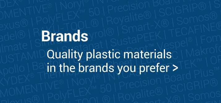 Brands for quality plastics materials