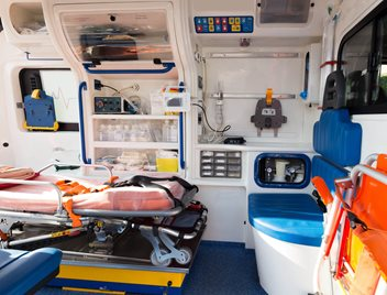 Plastic materials (KYDEX, ABS, Polycarbonate) for Specialty Vehicles including Ambulances and Medical Transport