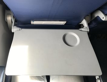 Vacuum formed KYDEX® Thermoplastic tray table