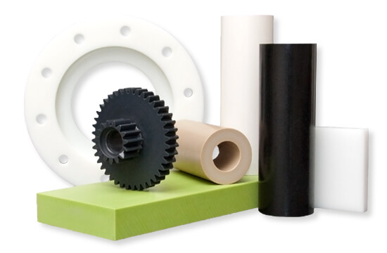 Plastic materials cut to size and plastics machined and fabricated - at Curbell Plastics.