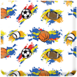 Sports Balls Heavy Transfer Paper