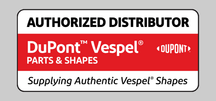 Authorized Distributor of DuPont™ Vespel Polyimide
