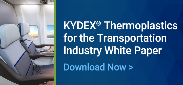 KYDEX® Thermoplastic Sheet for Transportation