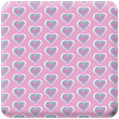 Pink Hearts Heavy Transfer Paper