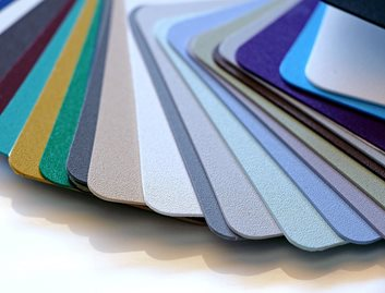 KYDEX® Thermoplastics - available in many different colors and textures, and can be formulated in custom colors.