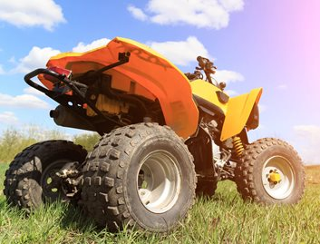 ALLEN® Thermoplastics suitable for exterior vehicle applications such as RV and ATV components