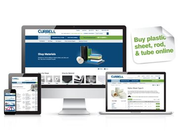 Curbell Plastics Launches New Website - Buy Online, Research, Discover
