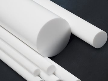 PTFE Rod Reprocessed