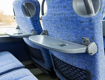 Durable plastics materials for interior transportation parts and applications
