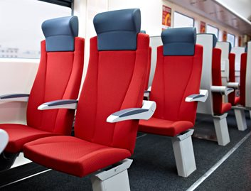 KYDEX® Thermoplastics are ideal for seating leg covers, which are subjected to frequent impact.