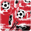 Red Soccer Heavy Transfer Paper