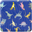 Blue Dinosaur Heavy Transfer Paper