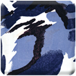Blue Camouflage Heavy Transfer Paper