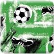 Green Soccer Heavy Transfer Paper