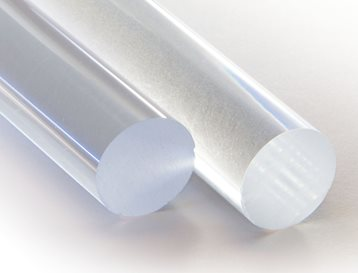 Polycarbonate Rod Glass-Filled