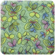 Green Butterflies Heavy Transfer Paper