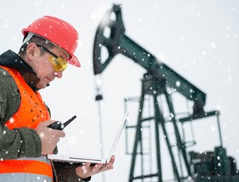 Extreme temperatures and harsh environmental conditions Oil and gas exploration and production require materials that withstand extreme temperatures and harsh environments.
