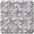 Grey Skulls Heavy Transfer Paper