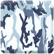 Purple/Blue Camo Heavy Transfer Paper
