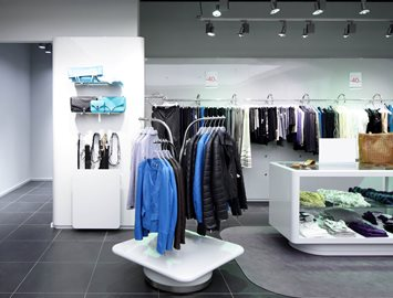 Clothing Racks Made from KYDEX® XD 3D Laminate