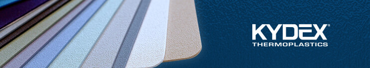 KYDEX® Thermoplastics (at Curbell Plastics)