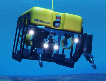 Reduce weight of ROV (Remote Operated Vehicle) with plastics. Learn more at Curbell Plastics.